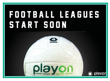 New Leagues Start